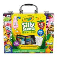 Crayola Silly Scents 52 Piece Mini Art Case