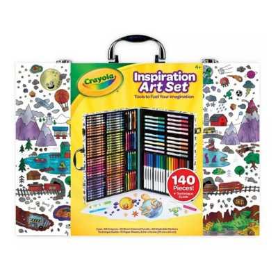 Crayola Inspirational 140 Piece Art Case