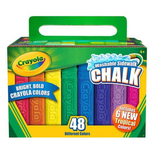 Crayola 48 ct. Assorted Color Sidewalk Chalk