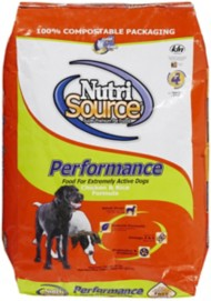 NutriSource Performance Chicken & Rice Formula Dry Dog Food
