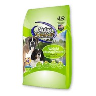 NutriSource Weight Management Chicken and Chicken Meal Dog Food