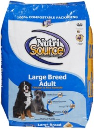 NutriSource Large Breed Adult Premium Dog Food