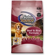 NutriSource Beef and Brown Rice Formula Dog Food