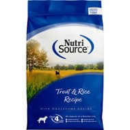 NutriSource Trout and Rice Formula Dog Food