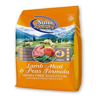 NutriSource Grain Free Lamb Meal and Peas Formula Dog Food