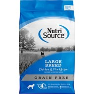 NutriSource Grain Free Large Breed Chicken and Pea Formula Dog Food