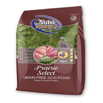 NutriSource Grain Free Prairie Select Dog Food