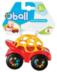 Toysmith Oball Rattle Roll