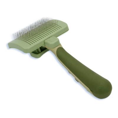 Safari Dog Self-Cleaning Slicker Brush