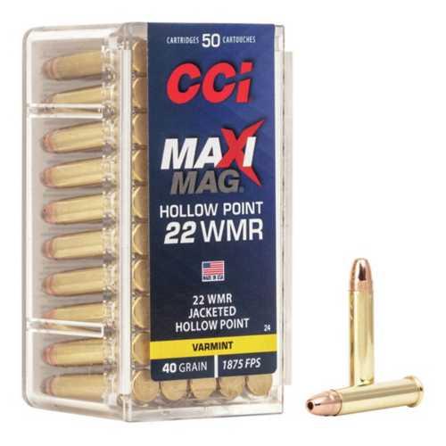 CCI Ammo 22 WMR HP 40gr Maxi-MAG