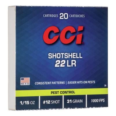 CCI Ammo 22 LR Shotshell