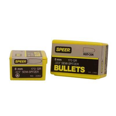 Speer Bullet 8mm .323 170gr Semi-Sptz
