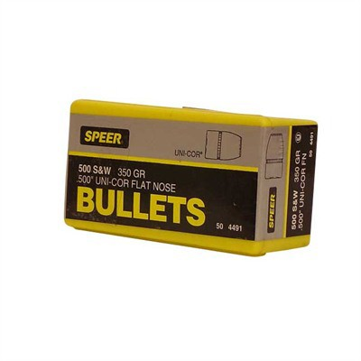 Speer Bullet 500 S&W 500-350gr JSP