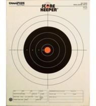 Champion 100 Yard Rifle Sight In Target Orange Bullseye 12 Per Pack
