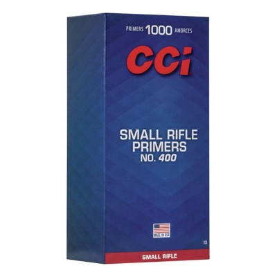 CCI 400 Small Rifle Primer Brick