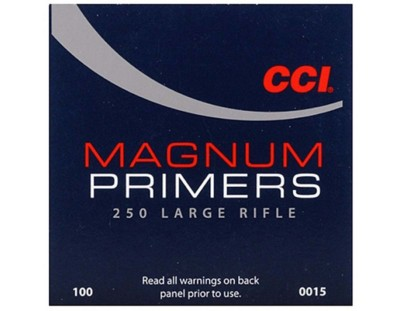 CCI 250 Magnum Large Rifle Primer Brick