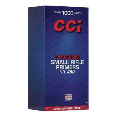 CCI 450 Magnum Small Rifle Primers