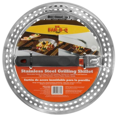 Mr. Bar-B-Q Stainless Steel Grilling Skillet