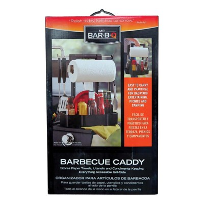 Mr. Bar-B-Q Barbecue Serving Caddy