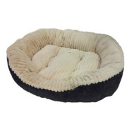 Sleep Zone Regal Plush Dog Bed