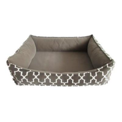 Sleep Zone Lattice Look Memory Foam Dog Bed