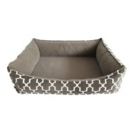 Sleep Zone Lattice Look Memory Foam Dog Bed