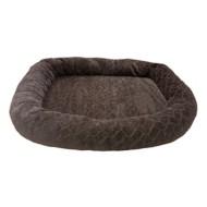 "Sleep Zone Diamond Cut Oval Orthopedic 40"" Dog Bed"
