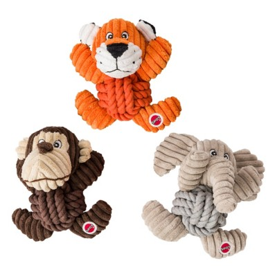 SPOT Assorted Knot-For-Nothing Dog Toy