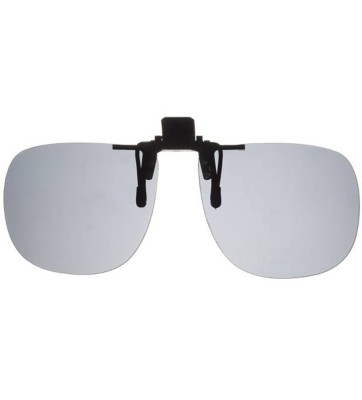 Fisherman Eyewear Grey Clip-On Sunglasses