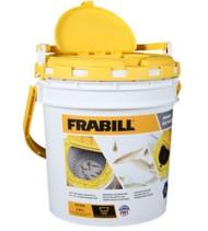 Frabill Drainer Bait Bucket 2 Gallon