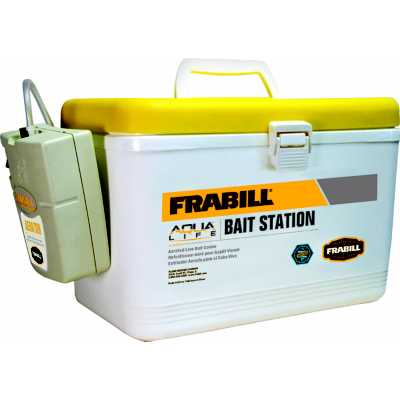 Frabill Aeration Bait Box with Aerator