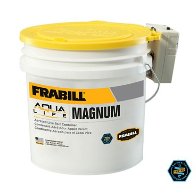 Frabill Magnum Bucket with Aerator 4.25 Gallon