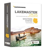 Humminbird LakeMaster PLUS Map Card