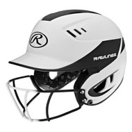 Junior Rawlings Velo Batting Helmet With Mask