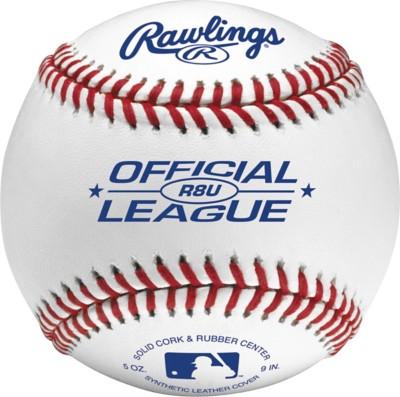 Rawlings 8 & Under Official Recreational League Baseball 12 Pack