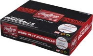 Rawlings 12 & Under Game Play Leather Official League Baseball 12 Pack