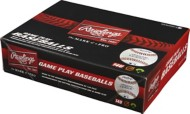 Rawlings 14 & Under Game Play Leather Official League Baseball 12 Pack