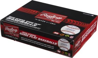Rawlings NFHS High School Game Play Baseball 12 Pack
