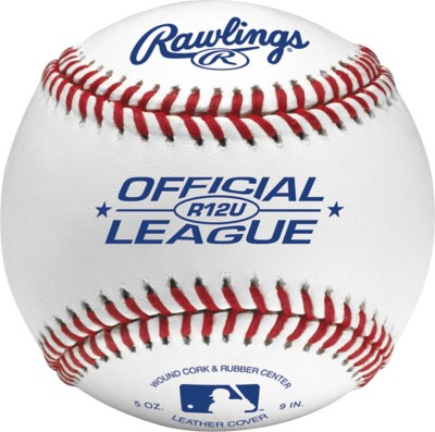 Rawlings 12 & Under Game Play Leather Official League Baseball 2 Pack