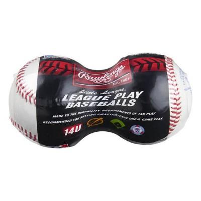 Rawlings Little League 14U League Baseballs - 2 Pack