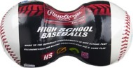 Rawlings NFHS High School Game Play Baseball 2 Pack
