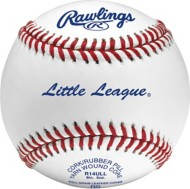 Rawlings 14 & Under Game Play Leather Official Little League Baseball 2 Pack