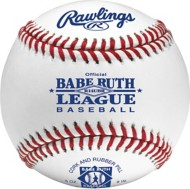 Rawlings 14 & Under Game Play Leather Official Babe Ruth Baseball 2 Pack