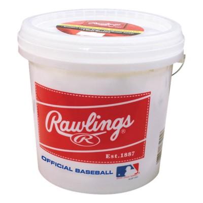 Rawlings 3 Gallon Bucket of 24 8U Recreational Baseballs