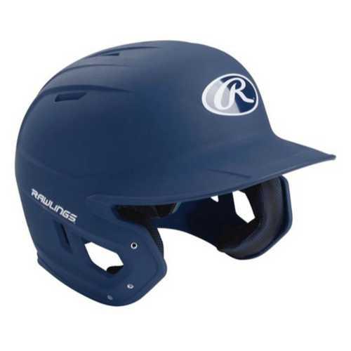 Senior Rawlings Mach Solid Matte Baseball Helmet