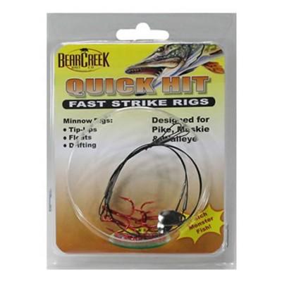 Bear Creek Quick Hit Fast Strike Rigs 2 Pack