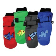 Toddler Boys' Grand Sierra Taslon Ski Mittens