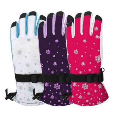 Girls' Grand Sierra Snowflake Gloves