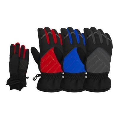 Grade School Boys' Grand Sierra Sport Fleece Ski Gloves