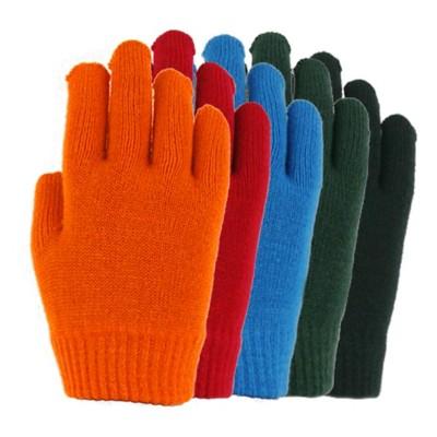 Grade School Boys' Grand Sierra Solid Knit Stretch Glove